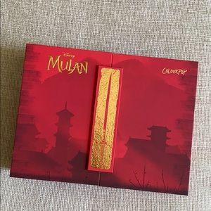 Mulan x Colourpop PR Full Collection Disney
